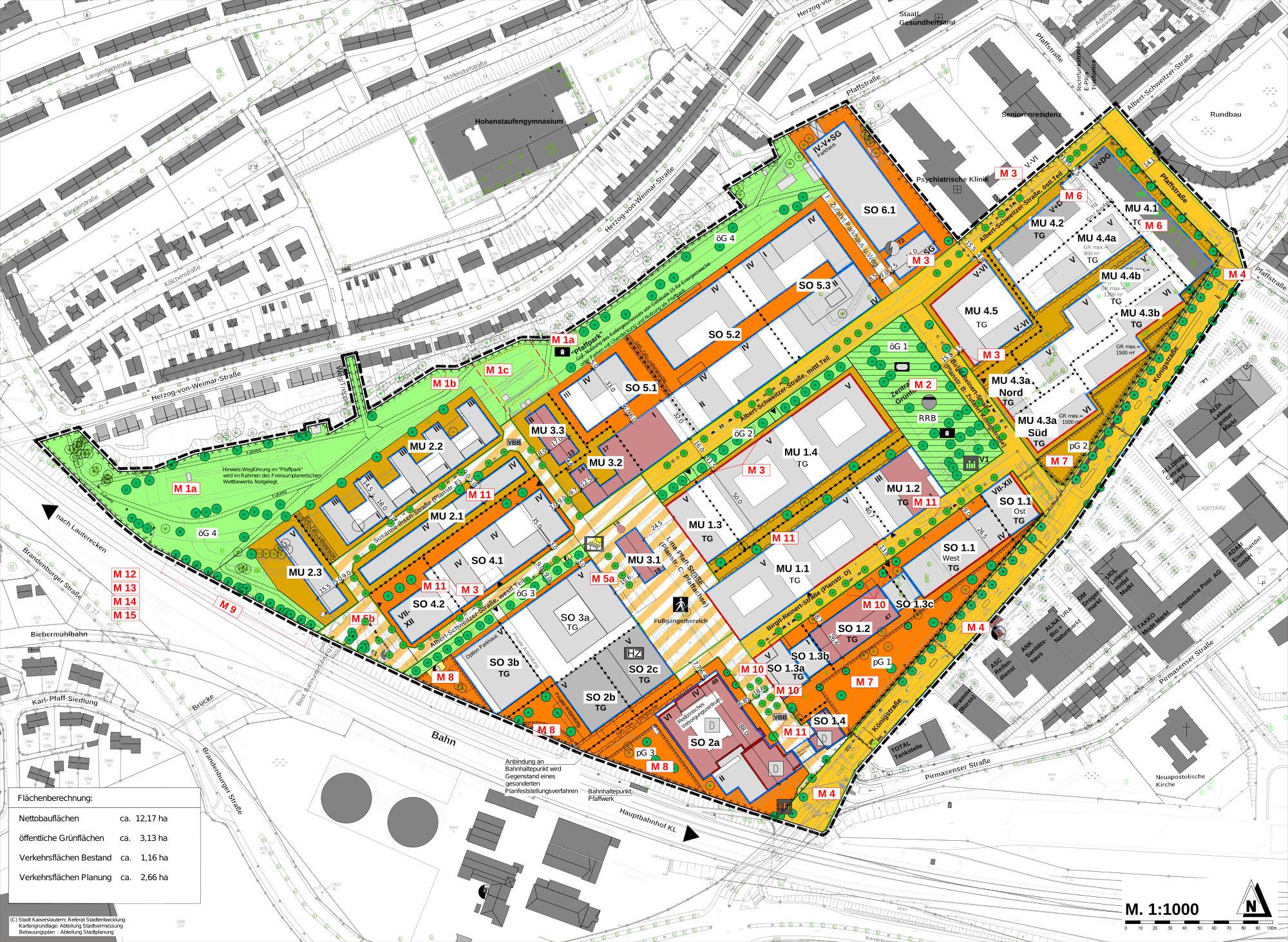 Bebauungsplan: Königstraße - Albert-Schweitzer-Straße - Pfaffstraße
